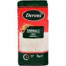 Orez pentru sarmale cu bob rotund Deroni 1kg