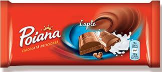 Poiana. Ciocolata cu lapte 90g