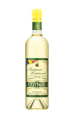 Vin alb Tamaioasa Romaneasca 0.75l Cotnari