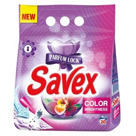 Detergent Automat Savex Powerzyme Color, 2 Kg