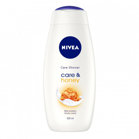 Gel de dus Nivea Care & Honey, 500 ml