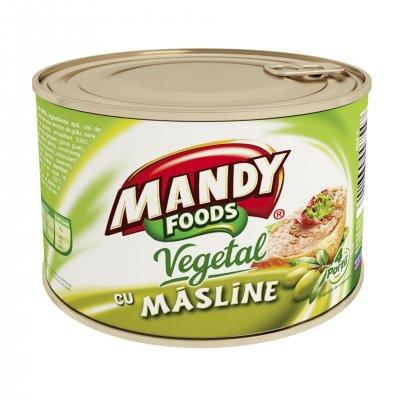 Mandy Pate Vegetal Cu Masline 200g