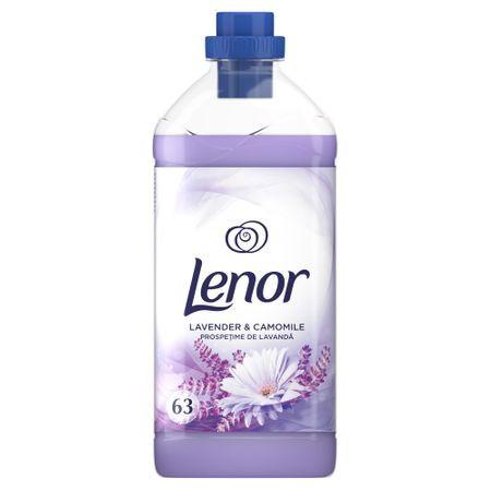 Balsam de rufe Lenor Lavender & Camomile, 63 spalari, 1.9L