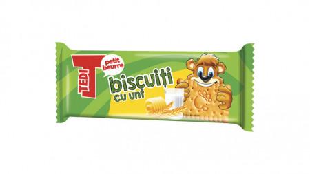 Biscuiti cu unt 50g Tedi