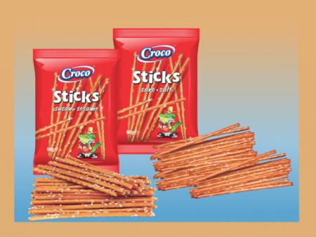 Croco – sticks sare, susan – 80 g