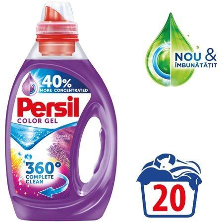 Detergent lichid Color Gel Lavender Freshness 20 spalari 1L Persil