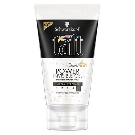 Gel Taft Power Invisible, 150 ml