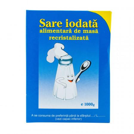 SALROM SARE ALBASTRA IODATA RECRISTALIZATA 1000G