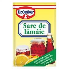 Sare de lamaie 8g Dr. Oetker