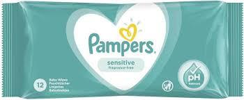 Servetele umede copii PAMPERS Sensitive 52buc