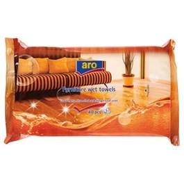 Servetele umede pentru mobila Expertto, 40 buc