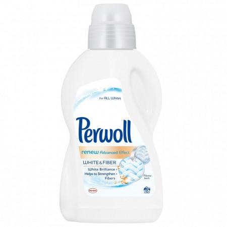 Perwoll Detergent lichid, 900 ml, 15 spalari, Renew White