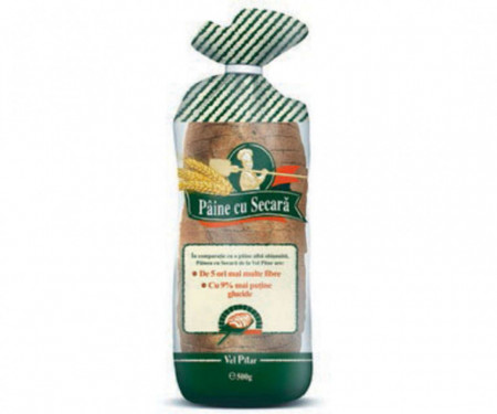 Vel Pitar Paine cu Secara feliata 500 g