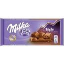 Ciocolata Milka 90g Triple Choco