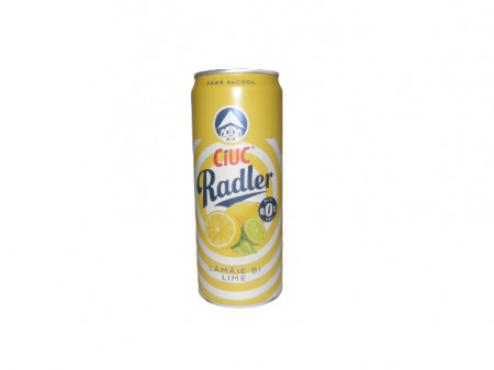 Ciuc Radler lămâie și lime 0,0% - 330 ml