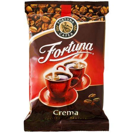Cafea macinata si prajita Crema 100g Fortuna