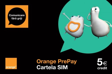 Cartela SIM Orange PrePay și tarife