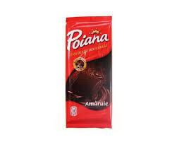 Ciocolata amaruie 5% cacao 80g Poiana