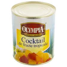 Compot Cocktail de fructe tropicale 850ml Olympia