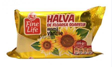 FINE LIFE HALVA FLOAREA SOARELUI VANILIE 200G