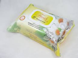 Fresh Baby Islak Havlu Papatya 100 BUC