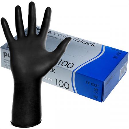 Manusi nitril marimea M Pura Comfort 100buc