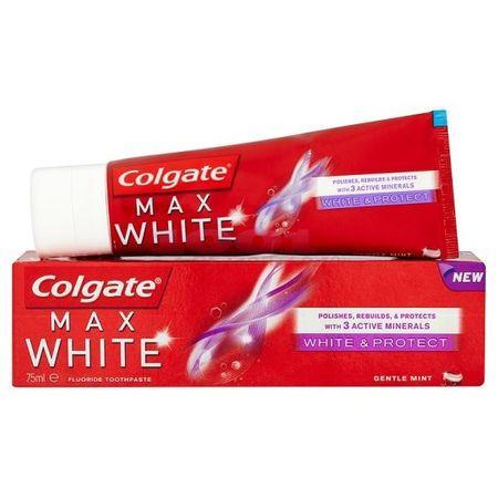 Pasta de dinti Max White&Protect Colgate 75ml