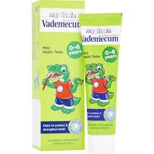 Pasta de dinti Vademecum Junior Apple, 50 ml
