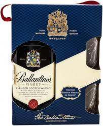 Whisky Ballantine'S, Blended 40%, 0.7l +2 Pahare