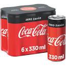 Bautura carbogazoasa cu indulcitori 6x330ml Coca-Cola Zero Zahar
