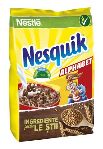 Cereale mic dejun Nestlé® NESQUIK ALPHABET® 460g