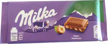 Ciocolata Milka 100g Hazelnut