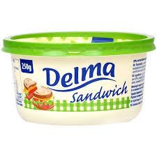 Delma Sandviș Grăsime vegetală tartinabilă (20% grăsime)250G