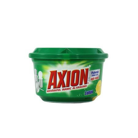 Detergent pasta pentru vase Axion, aroma lamaie, 400 g, AN