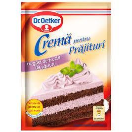 Dr.Oetker - Cremă de tort instant cu aromă de fructe de pădure 50g