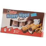 Napolitane cu umplutura de lapte si cacao Happy Hipo 5x20.7g Kinder