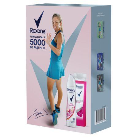 Set Cadou Rexona Sexy Bouquet: Gel de dus, 250ml + Deodorant spray, 150ml