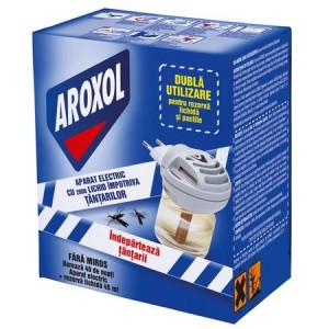 Aparat electric Aroxol cu lichid impotriva tantarilor