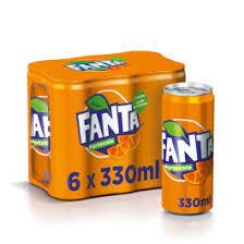 Bautura racoritoare carbogazoasa cu suc de portocale 330ml Fanta