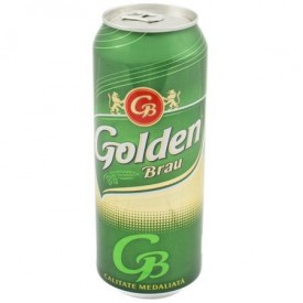 Bere blonda la doza 0.5l Golden Brau