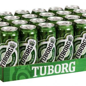 Bere Tuborg Doza 0.5l