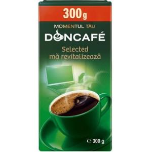 Cafea prajita si macinata Selected 300g Doncafe