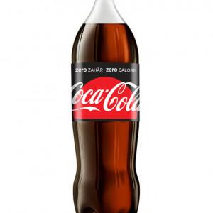 Coca-Cola Zero Zahar. Bautura racoritoare carbogazoasa cu indulcitori 2L