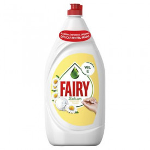 Detergent de vase Fairy Sensitive Chamomile & Vitamin E, 1.20 l