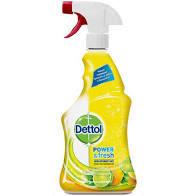 Dezinfectant multifunctional Dettol Power & Fresh, Sparkling Lemon & Lime Burst, 500 ml