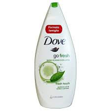 Gel de dus DOVE 700 ml - Green tea and cucumber