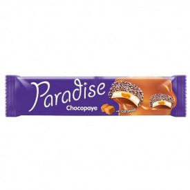 PARADISE CHOCO PAYE BISCUITI SANDWICH MARSHMALLOW CREMA CARAMEL SI COCOS 64
