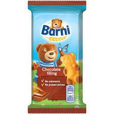 Prajitura cu crema de ciocolata 30g Barni