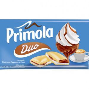 Primola Duo ciocolata alba - Cappuccino si Frisca 87g