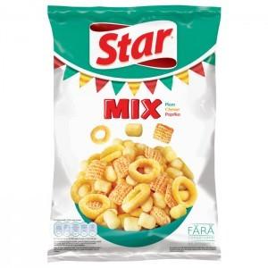 STAR SNACKS MIX – PIZZA, CHEESE, PAPRIKA 90g